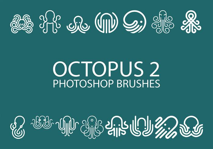 Kostenlose Octopus Photoshop Pinsel 2