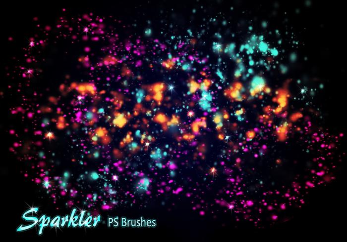 20 Sparkler PS Brushes abr. Volúmen 1