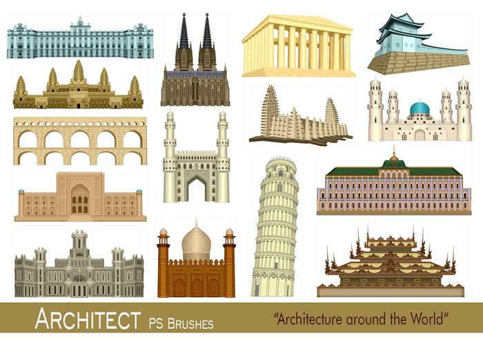 20 Arquitecto PS Brushes.abr vol.1