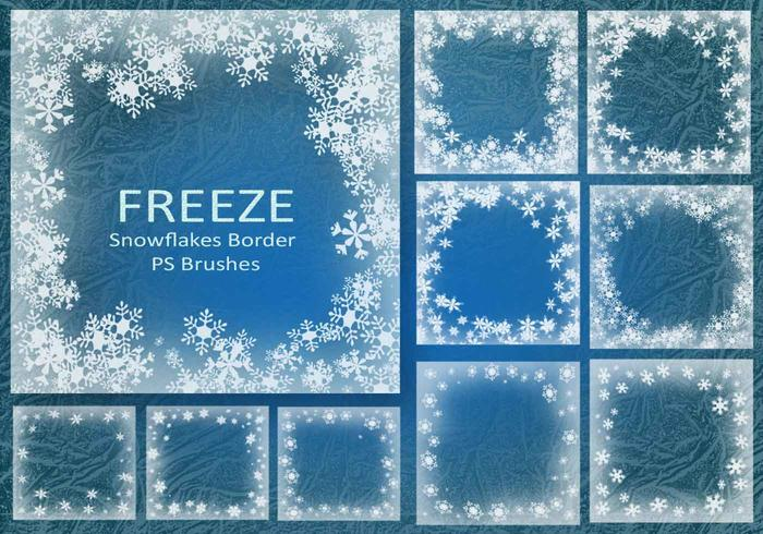 20 Freeze Border PS-borstels abr. Vol.13