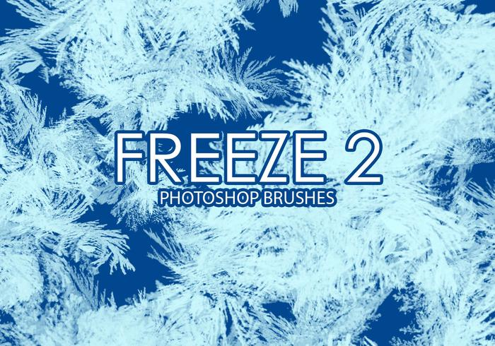 Gratis Freeze Photoshop Brushes 2