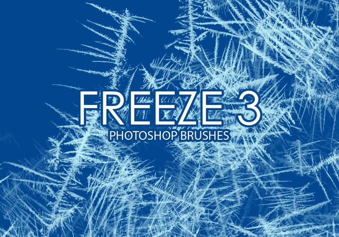 Free freeze photoshop brush 3