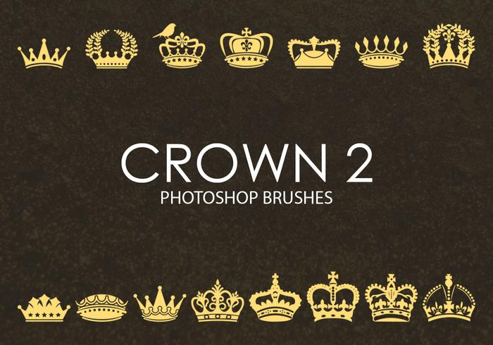Pinceaux Photoshop Crown gratuits 2