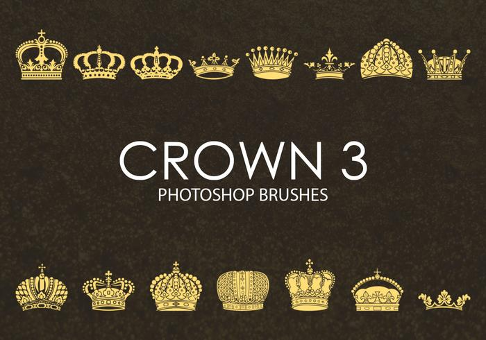 Free Crown Photoshop Brushes 3