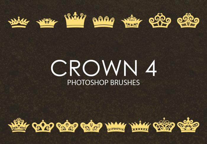 Gratis Crown Photoshop-penselen 4