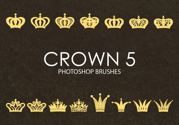 Gratis Crown Photoshop-penselen 5