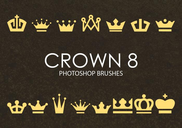 Gratis Crown Photoshop borstar 8