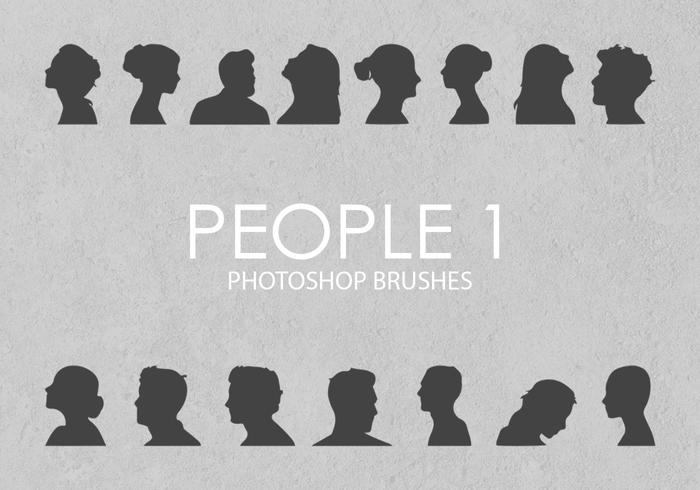 Free People Pinceles para Photoshop