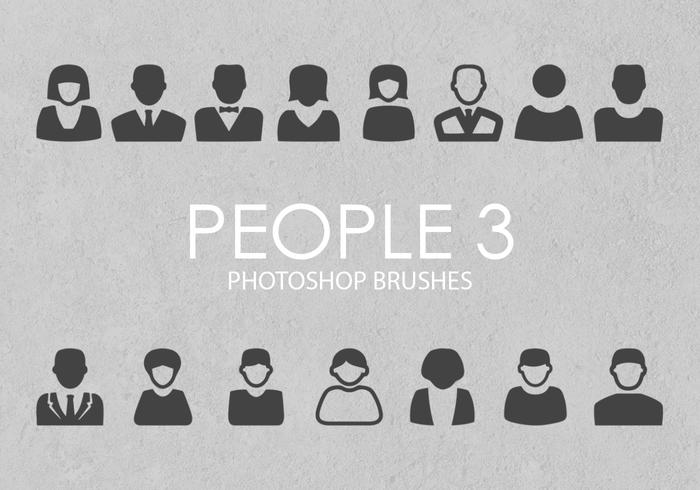 Free People Photoshop Brushes 3