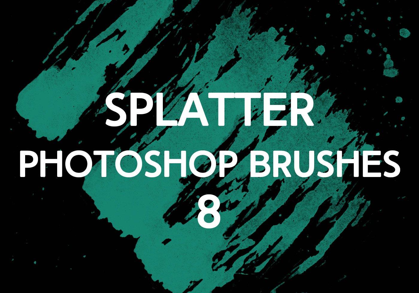 Paint Splatter Brushes Brusheezy