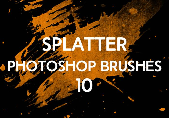 Splatter Photoshop Pinsel 10