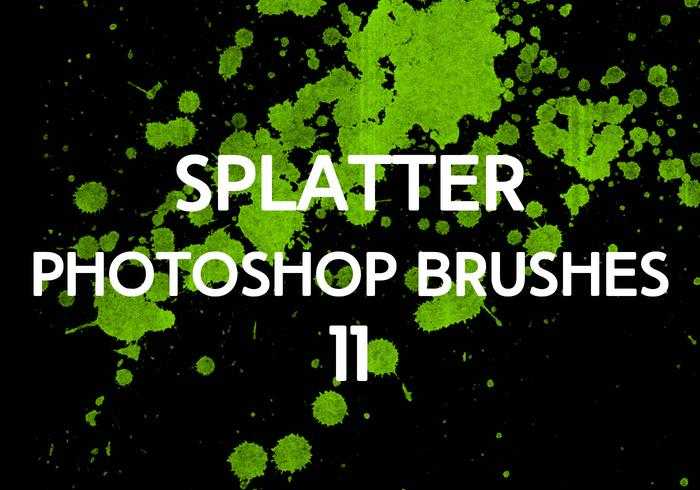 Splatter Photoshop Borstar 11