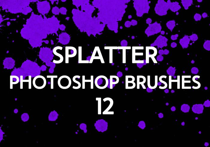Splatter Photoshop-penselen 12