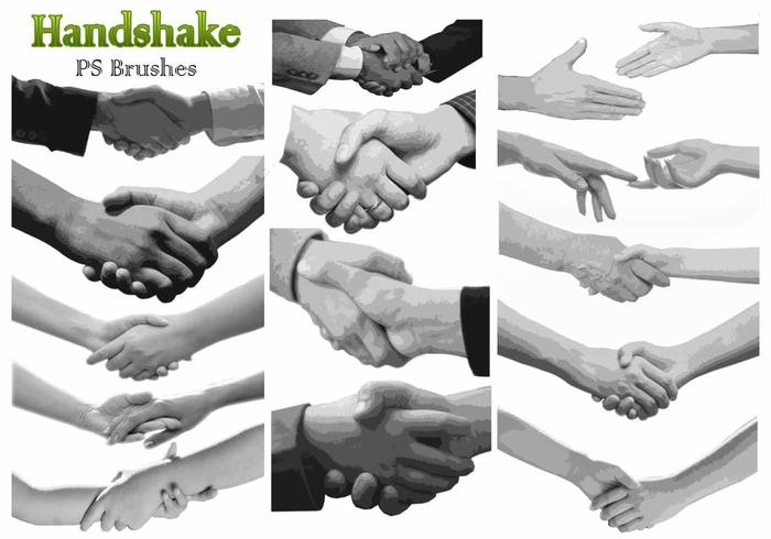 20 Handshake PS Bürsten abr. Vol.5