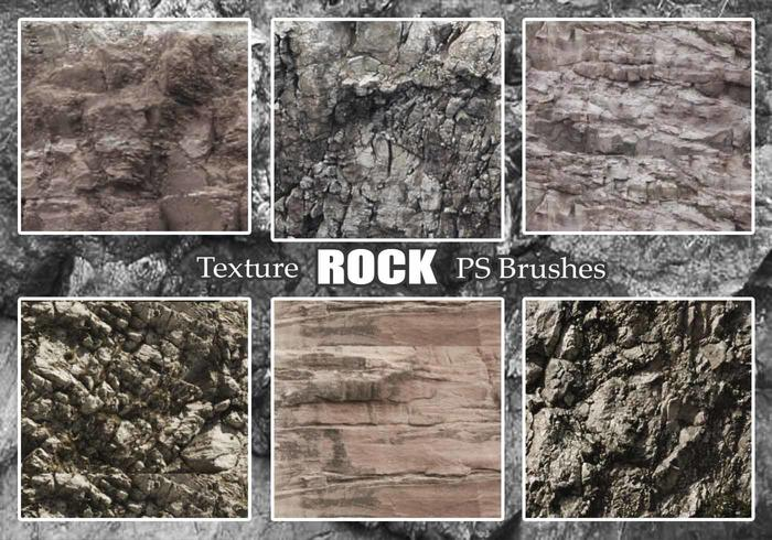 20 Brosses PS Texture Rock abr. Vol.24