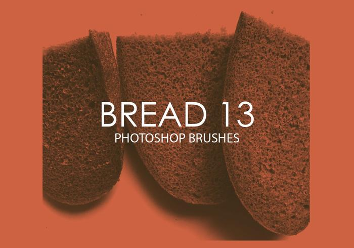 Free Bread Photoshop Brushes 13