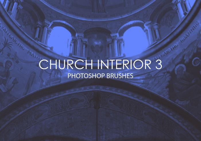 Gratis Church Interior Photoshop Brushes 3