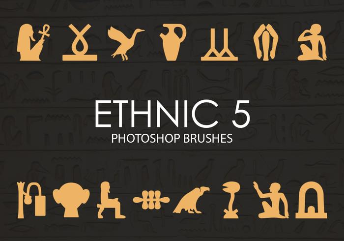 Free Ethnic Photoshop Brushes 5