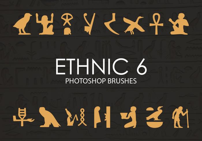Free Ethnic Photoshop Brushes 6