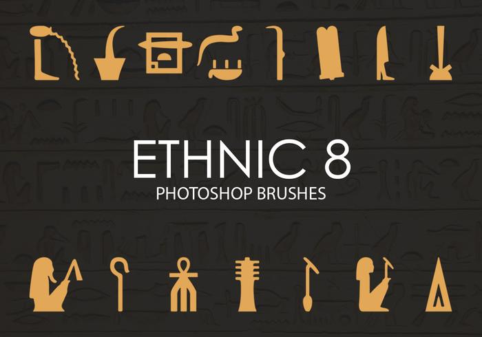 Free Ethnic Photoshop Brushes 8