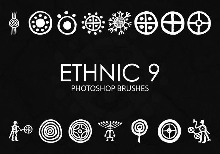 Free Ethnic Photoshop Brushes 9