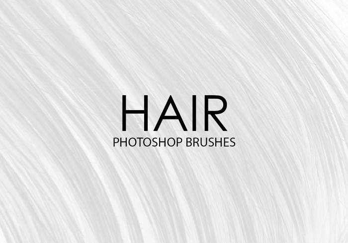 Free Hair Photoshop Brushes