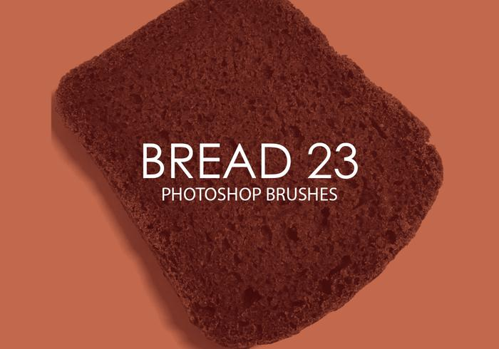 Free Bread Photoshop Brushes 23