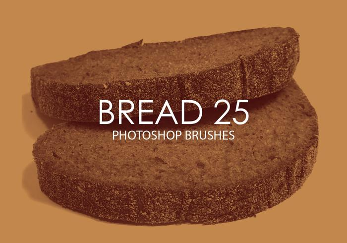 Free Bread Photoshop Brushes 25