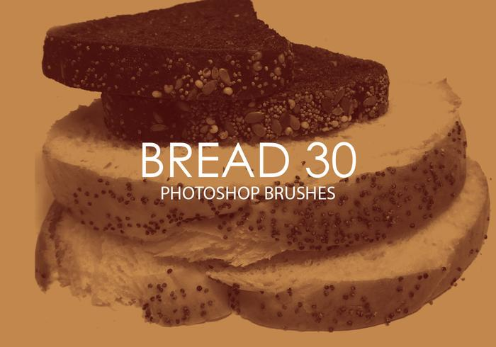 Gratis brood Photoshop-penselen 30