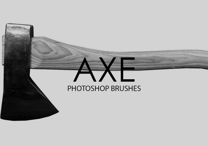 Free Axe Photoshop Brushes