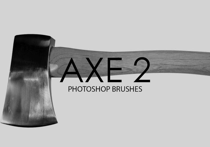 Gratuit Axe Photoshop Brushes 2