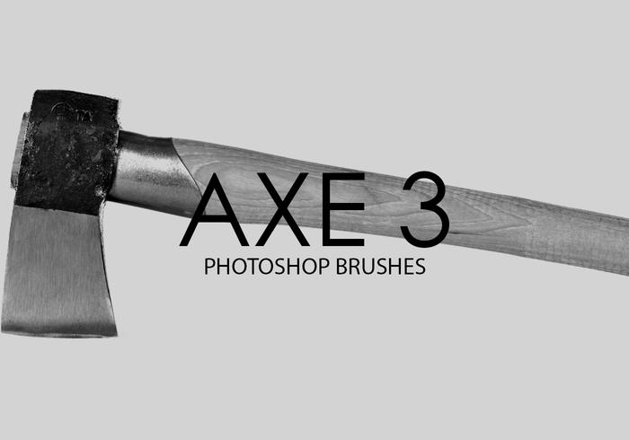 Free Axe Photoshop Brushes 3