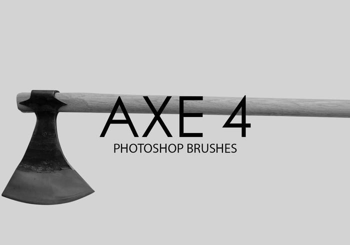 Free Axe Photoshop Brushes 4