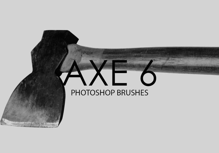 Free Axe Photoshop Brushes 6
