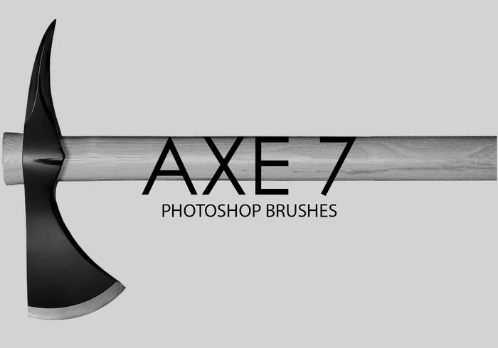 Gratuit Axe Photoshop Brushes 7