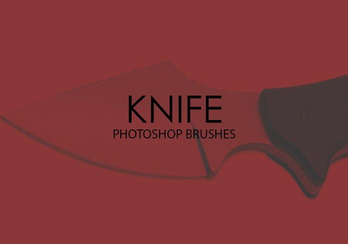 Free Knife Photoshop Brushes