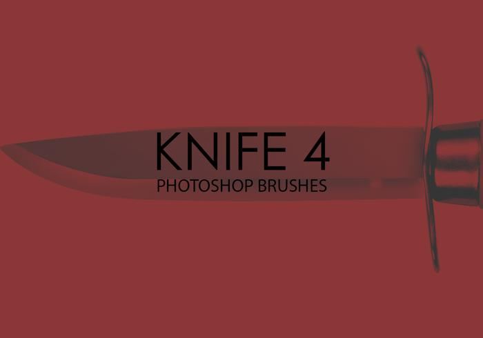 Free Knife Photoshop Brushes 4