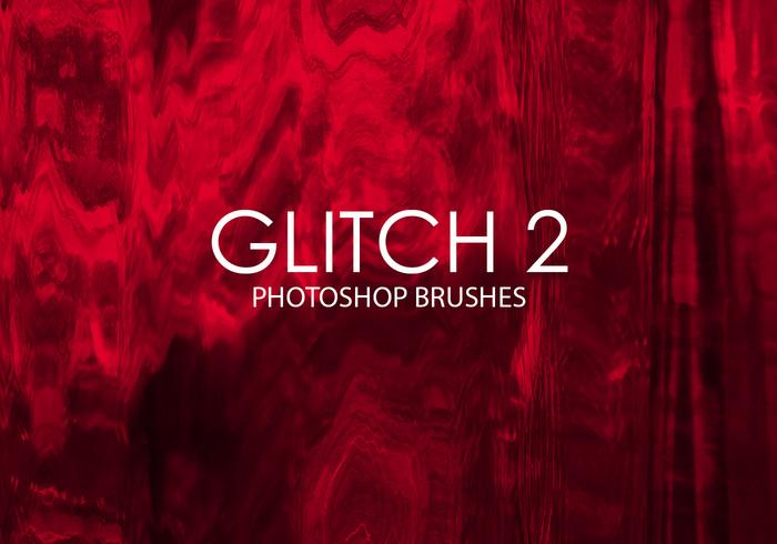 Free Glitch Photoshop Brushes 2