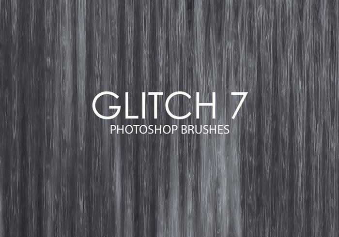 Free Glitch Photoshop Brushes 7