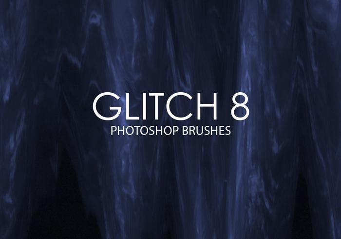 Free Glitch Photoshop Brushes 8