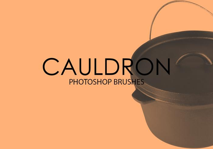 Free Cauldron Photoshop Brushes