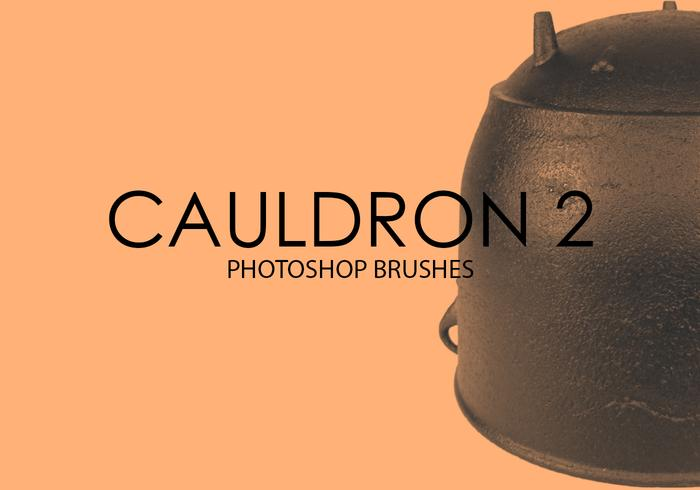 Free Cauldron Photoshop Brushes 2