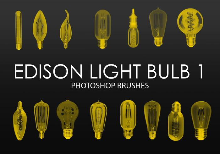 Gratis Edison Light Bulb Photoshop Borstar 1