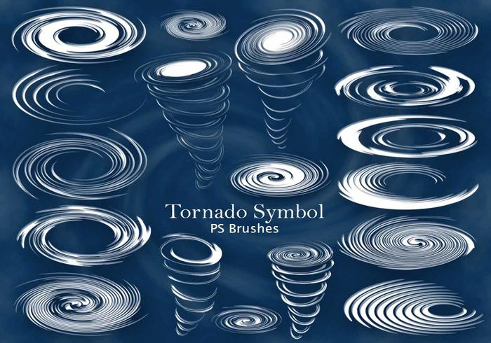 20 Tornado-symbool PS-borstels abr. Vol.4