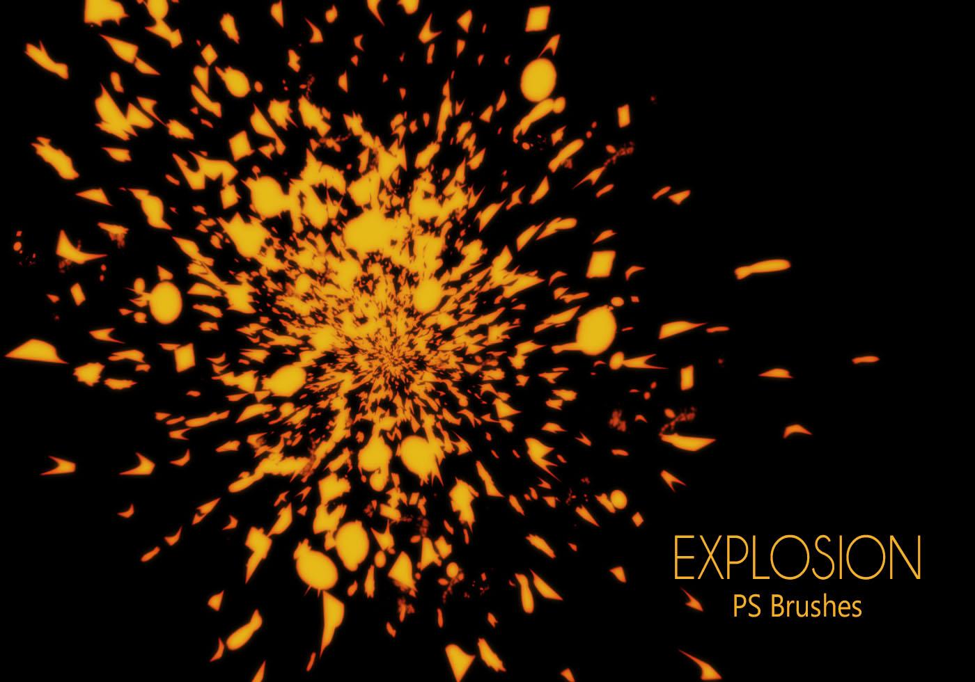 Explosion Kostenlos Pinsel - (514 Gratis-Downloads)