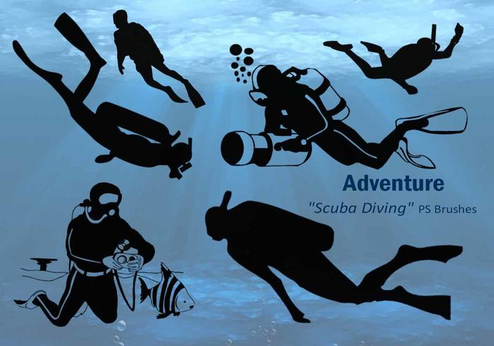 20 Adventure Scuba Diving PS Brushes.abr vol.1