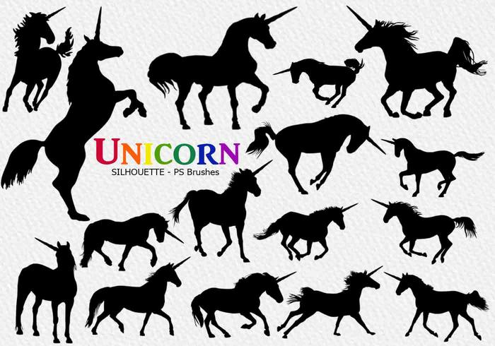 20 Unicorn PS Brushes abr. vol.2