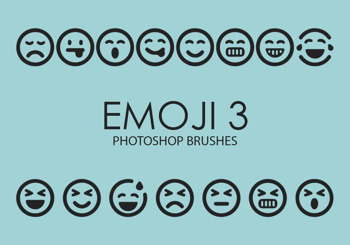 Emoji Photoshop Brushes 3