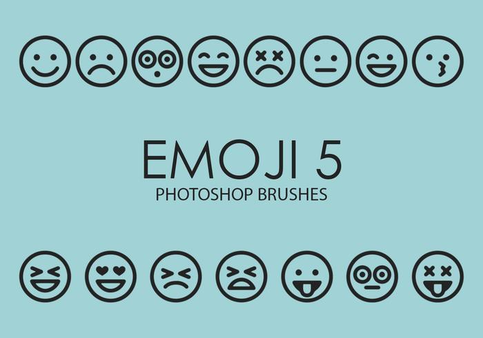 Emoji Photoshop-penselen 5