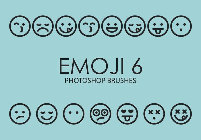 pinceles emoji photoshop 6